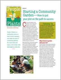 Starting A Community Garden How To Put Your Plot On The Path To Success Wisconsin Horticulture