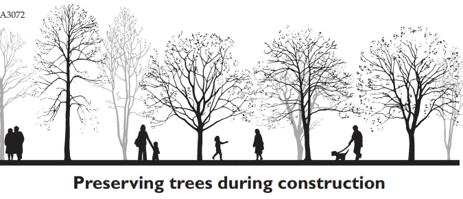 Preserving Trees During Construction