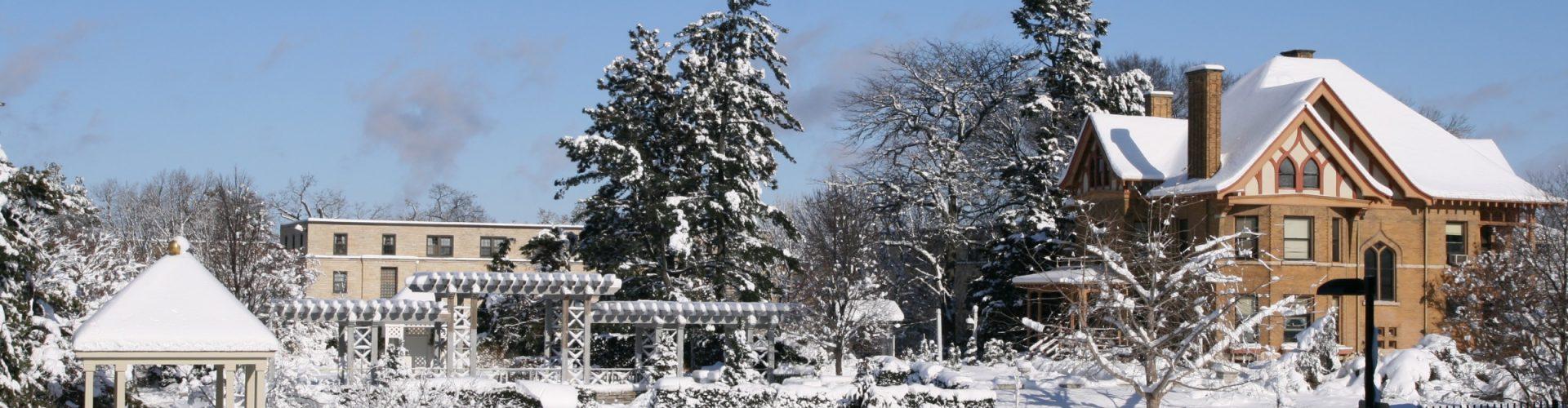 Allen Centennial Gardens in Winter